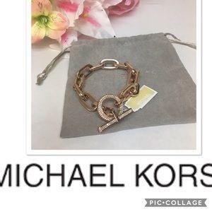 Lovely Michael Kors Chain Bracelet